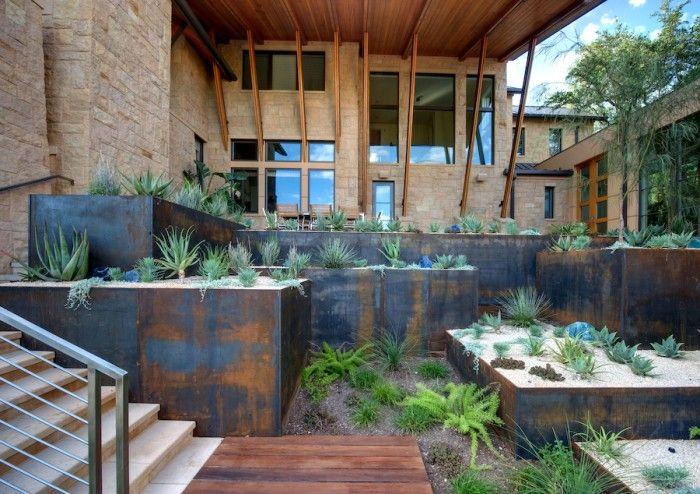 No Title Terrace Garden Design Steep Backyard Terrace Garden