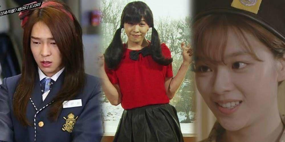 11 Awesome Parodies Of K Dramas By Idols Allkpop Com Kdrama Parody Drama