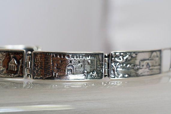 Voor mannen mannen armband Israëlische sieraden door ArtleahGifts