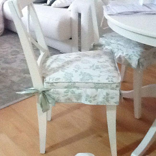 COJÍN PARA SILLA DE COCINA (MODELO) | cojines | Dining chairs, Chair ...