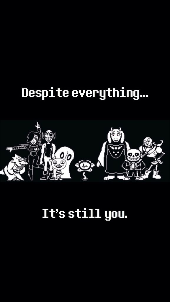 Iphone 5s Undertale Background Made By Me No Credit Needed