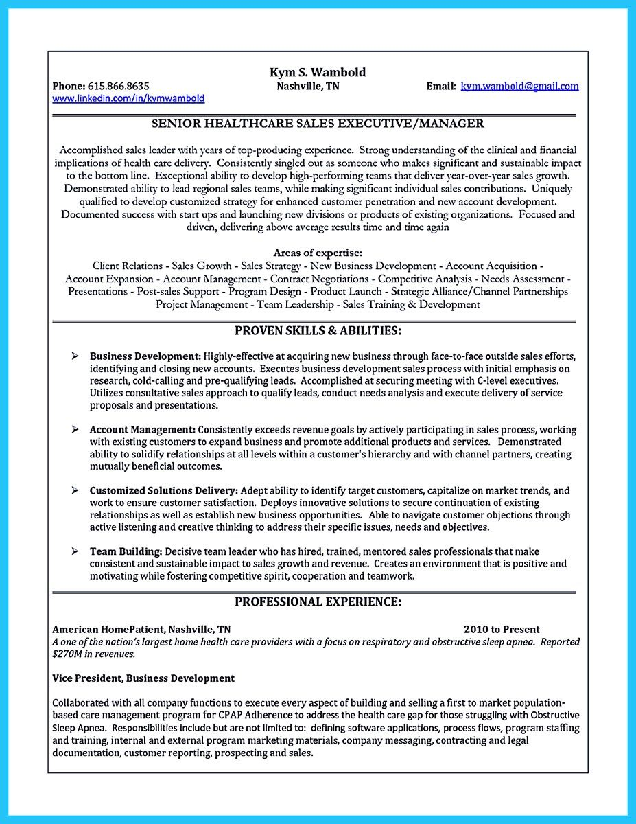 Marketing Skills Resume When You Make The Business Development Resume Consider You're Not