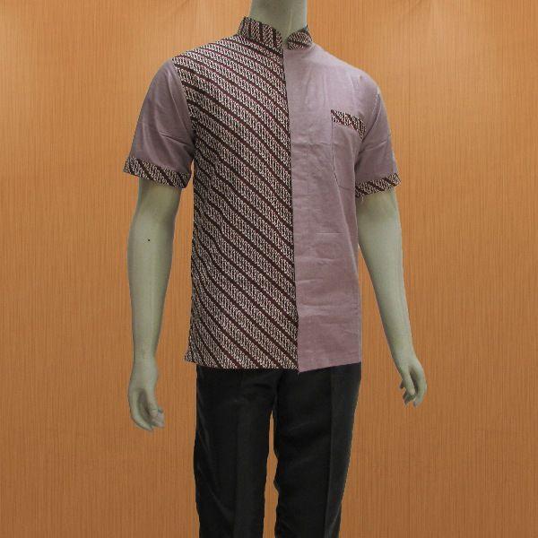 butik batik online shop murah pekalongan menyediakan baju batik pria dalam  model hem kemeja lengan pendek b6c6e9c3d6