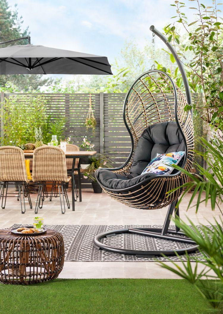 Hangstoel zwart leenbakker resort pinterest garden terrace