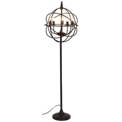 "Candelabra Floor Lamp Starfish Steampunk 63"" Candelabra Floor Lamp  Products  Pinterest"