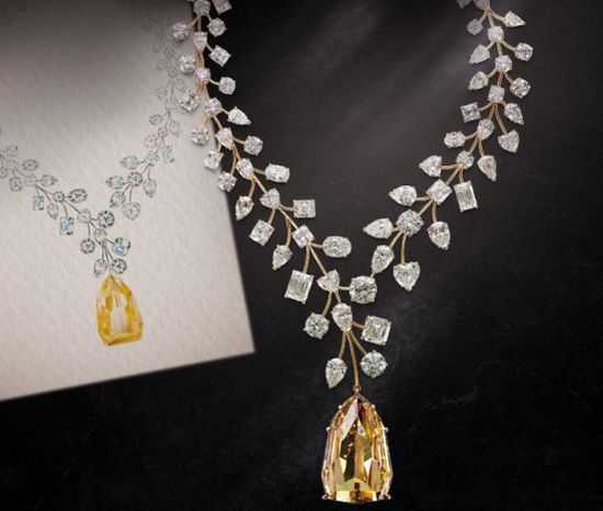 c0b3dc8549807 Mouawad L Incomparable diamond necklace for prices between  3
