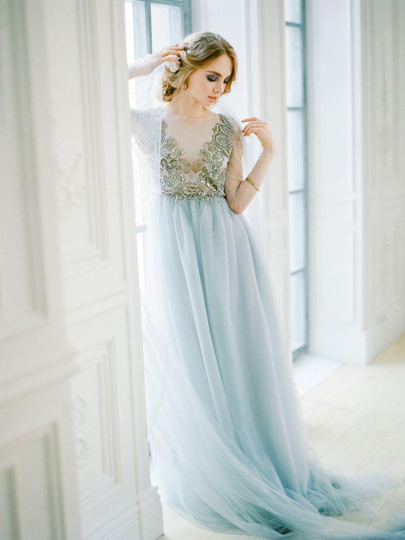 47++ Winter blue wedding dresses info