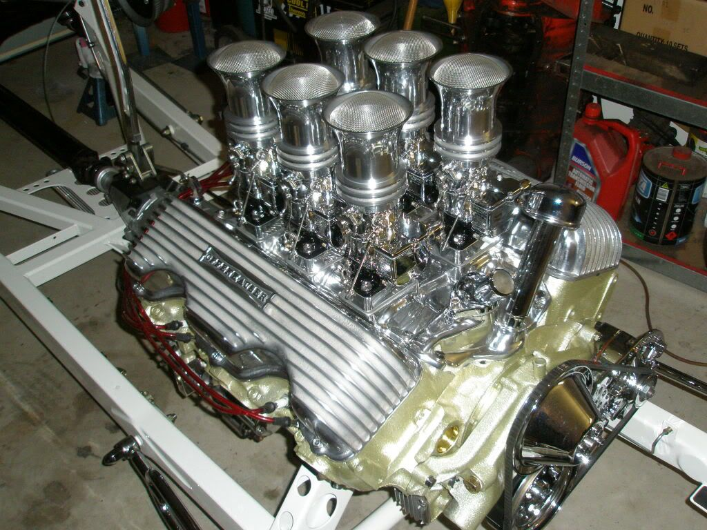 Chevy 409 | Chevy W block 409/348 | Pinterest | Chevy, Engine and ...