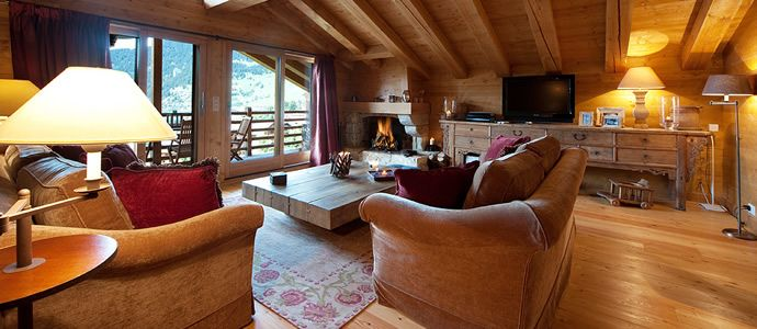 Luxury Ski Chalet Rental in the Swiss Alps, Verbier, Joli Soleil