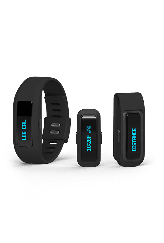 iFit Active Measures steps, distance, calories burned