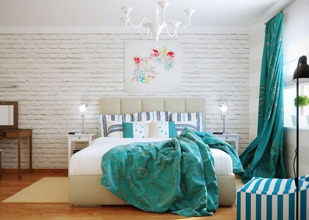 Quer tranquilidade e frescor na decoração? A cor turquesa é o tom certo! Veja imagens aqui: http://www.montacasa.com.br/blog/decoracao-de-ambientes/