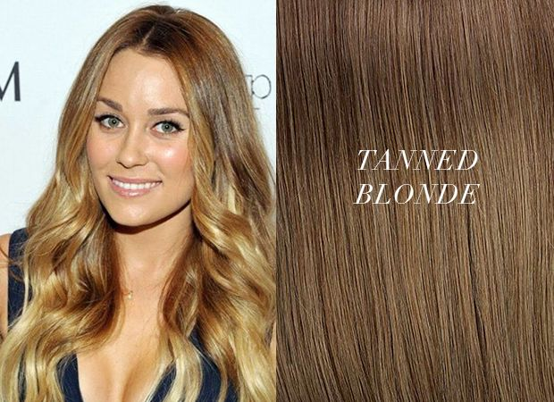 Our Tanned Blonde Hair Extensions