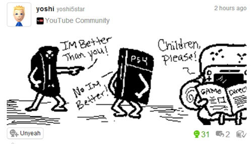 Quite Possibly the Best Miiverse Post Everi go on miiverse but have never seen this before im so gonna follow this person