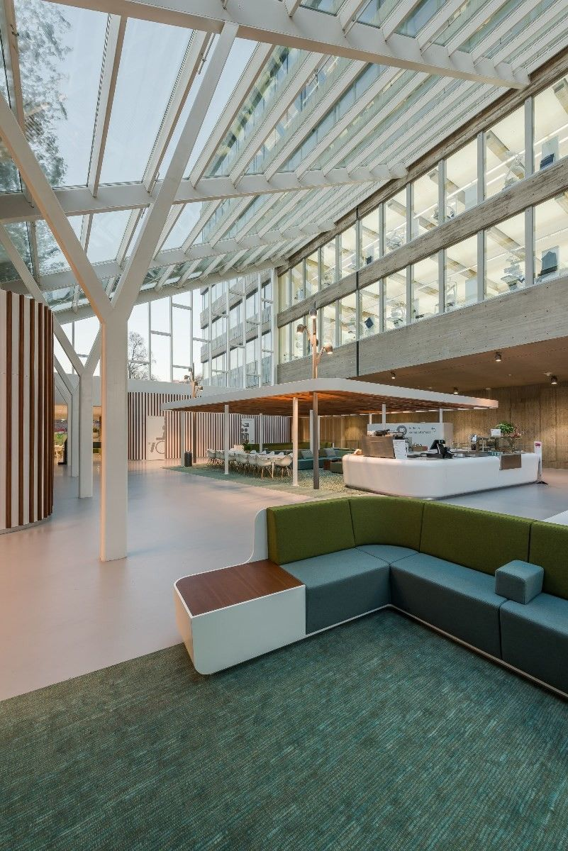 Dental Science Radboud University The Netherlands By Inbo Renovation Glass