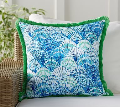 Lilly Pulitzer Oh Shello Printed Indoor Outdoor Pillow