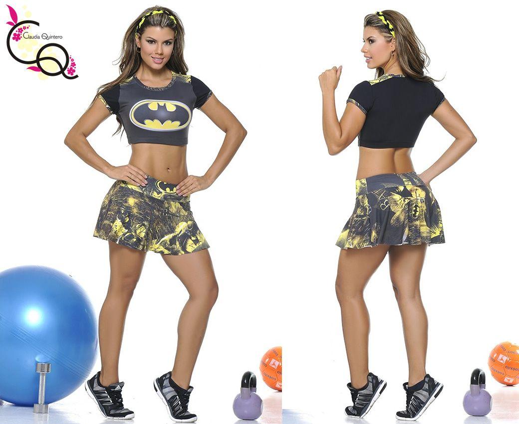 Conjunto Deportivo Top-Falda Short Ref. 601 Ropa Deportiva Claudia Quintero 859453dfbbc4e