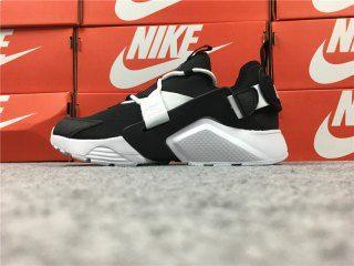 706714060b2a Fashion Nike Air Huarache City Low Men s Running Sports Shoes Black   White  AH6804-002