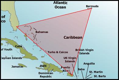 Bermuda Triangle Map | Inspiration for Hunter Crispian & the ...