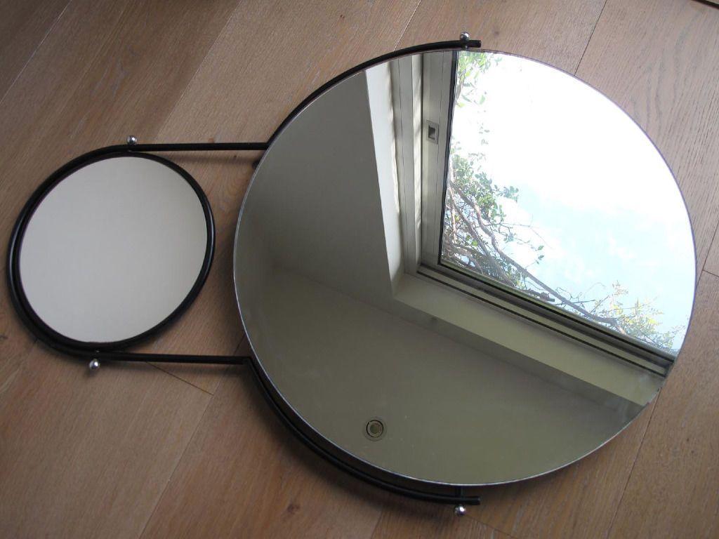 Bathroom Mirror Gumtree modern classic 1980s orbit bathroom mirror (omk design ltd