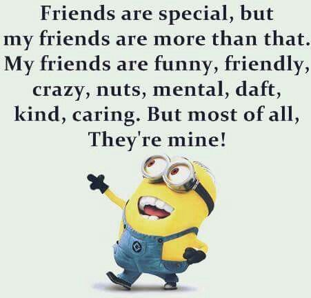 My Friends Minion Jokes Funny Quotes Minions Quotes