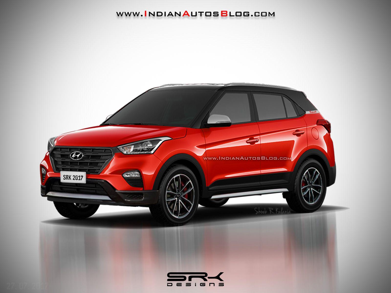 Recap - #Hyundai #Creta Sport rendered ahead of launch this year