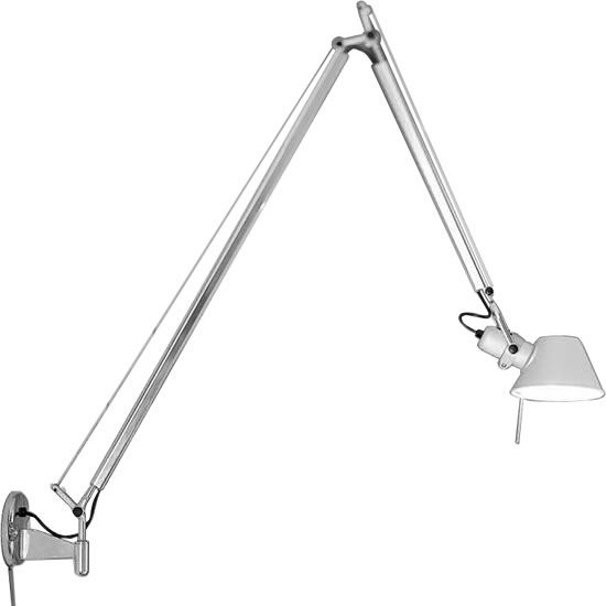 Artemide De Lucchi And Fassina Tolomeo Faretto Double Arm Wall Light Replica Hogar Pared