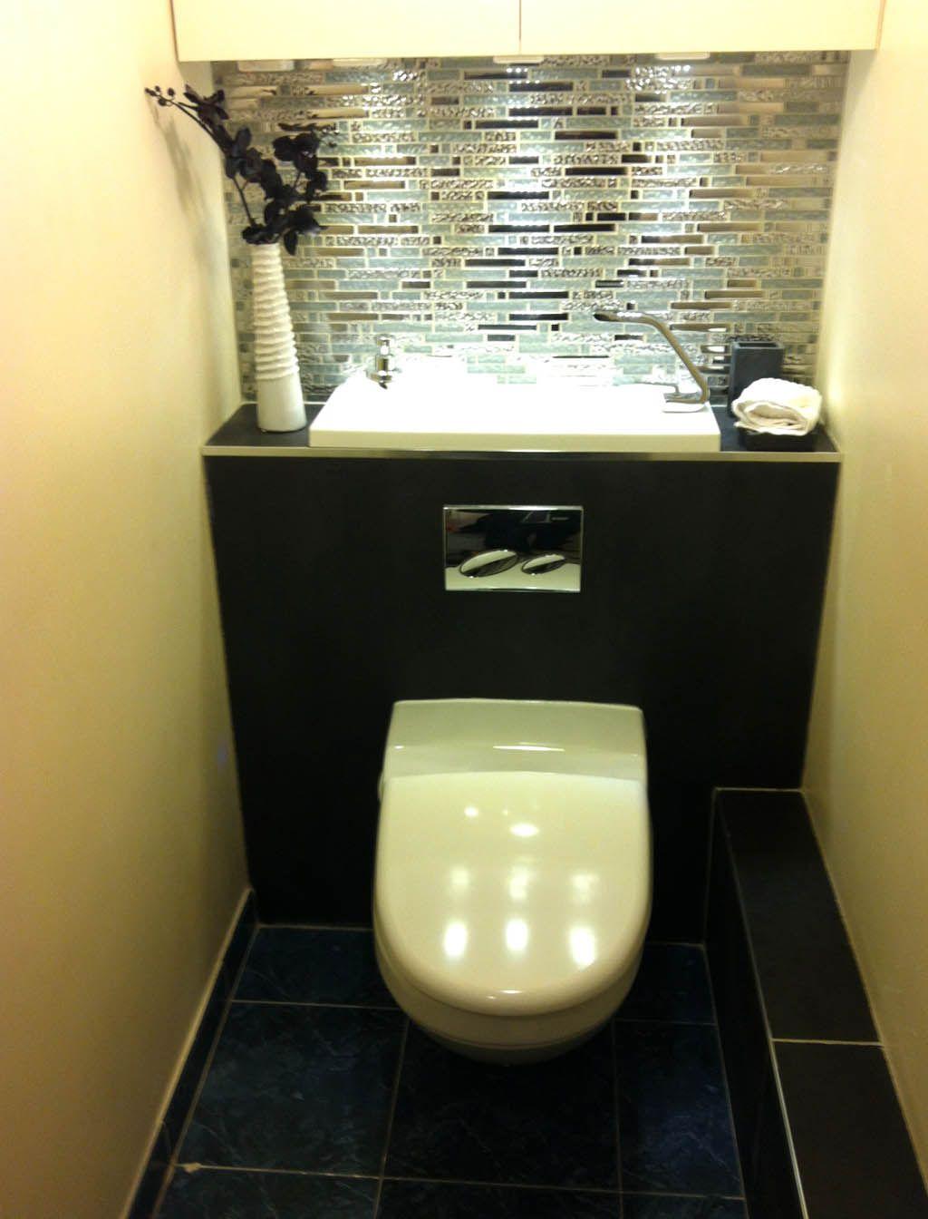 Wici bati design 3 m t 75 3 sur 4 pinterest compact bathroom - Toilette avec lave main integre castorama ...