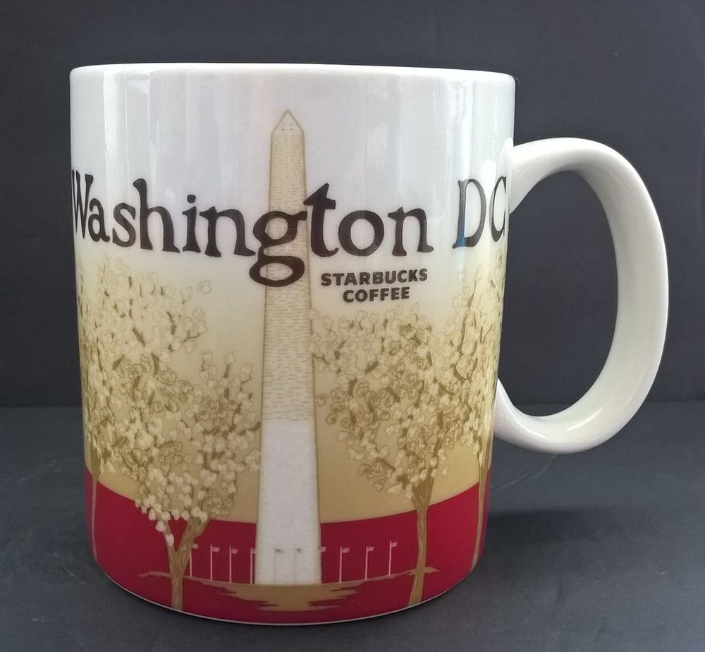 Coffeetea Mug Washington 2011 Collector Starbucks Dc 16 Series Oz WH2ID9EY