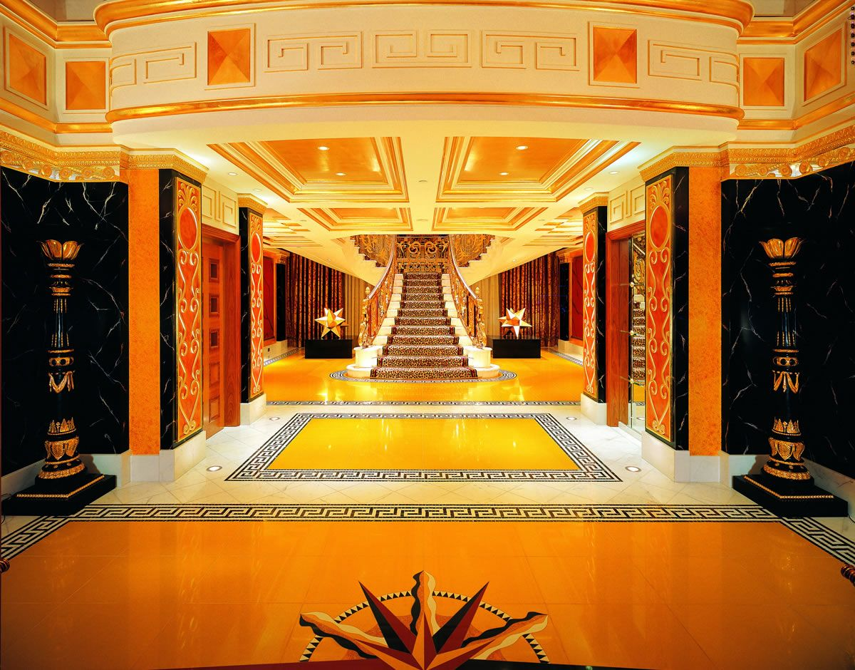 Luxurious Hotels Royal Suite Burj Al Arab Dubai Top 10