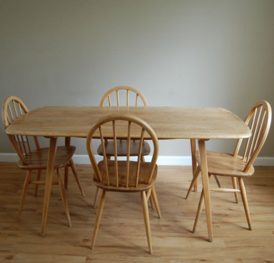 Ercol Dining Table & Chairs  New Flat  Pinterest  Ercol Dining Inspiration Second Hand Ercol Dining Room Furniture Decorating Inspiration