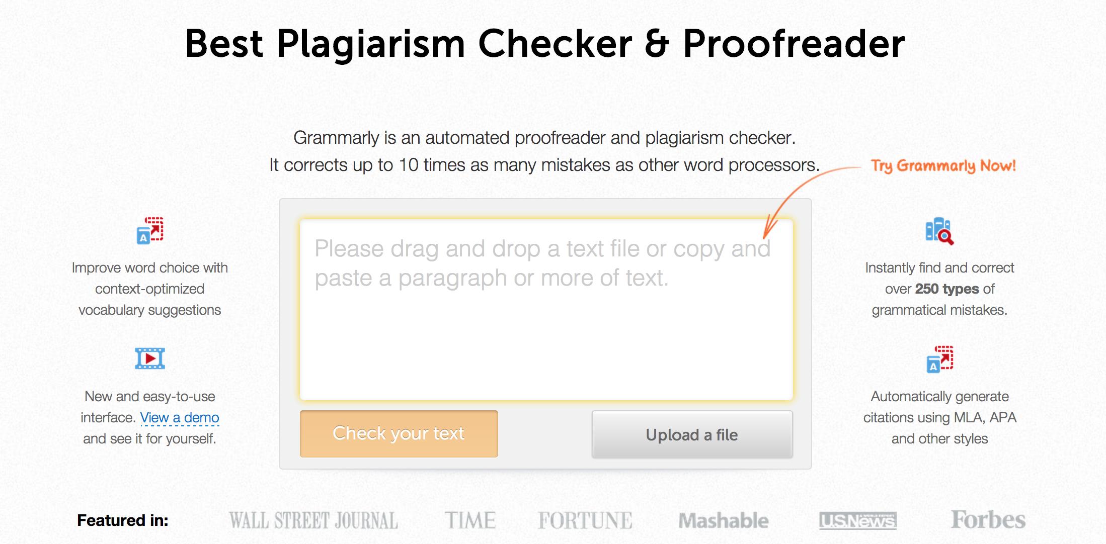 grammarly citation mla