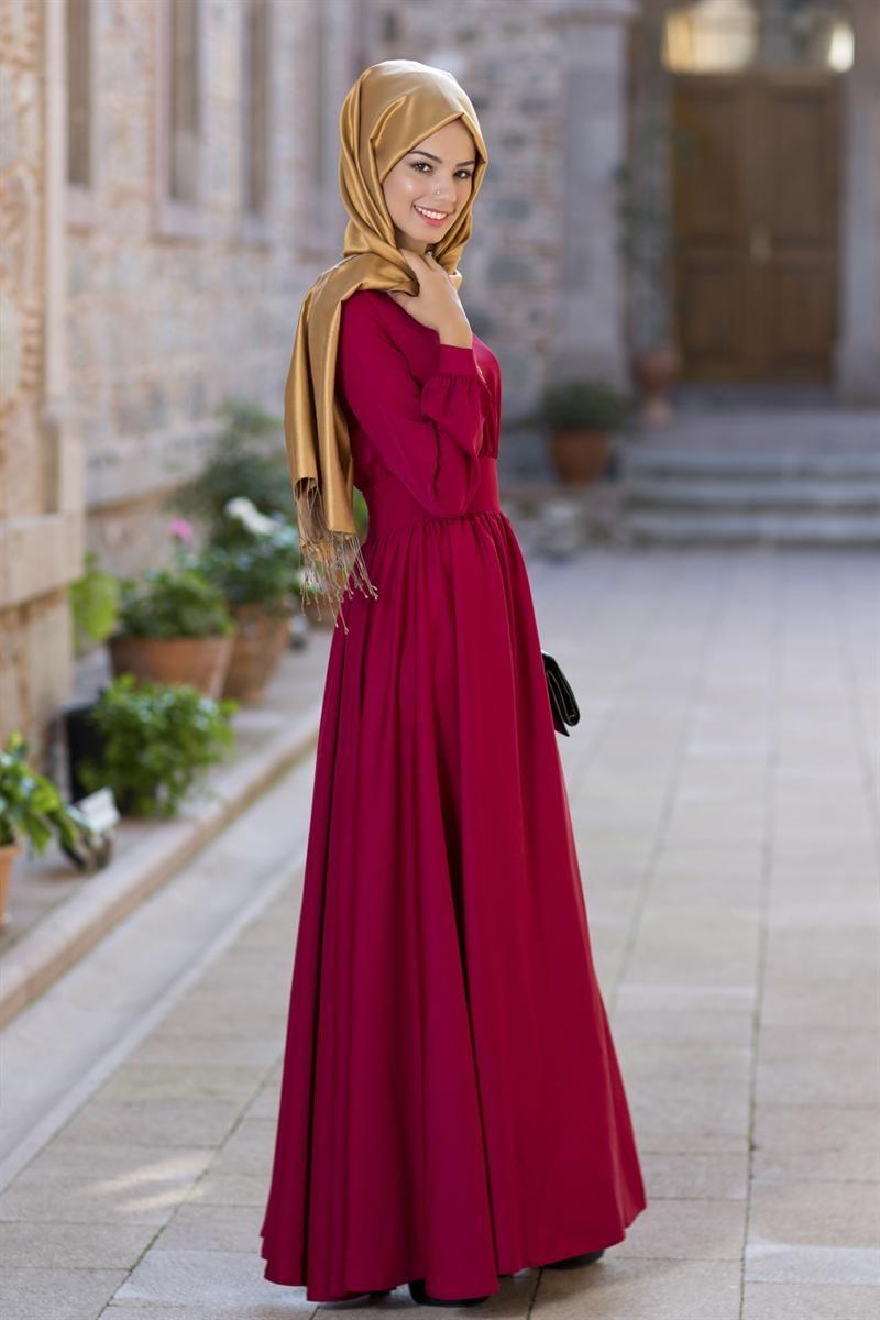 5d76eef0e7298 Pin by Tofisacom on Tesettür Kombin | Elbise modelleri, Giyim, Moda