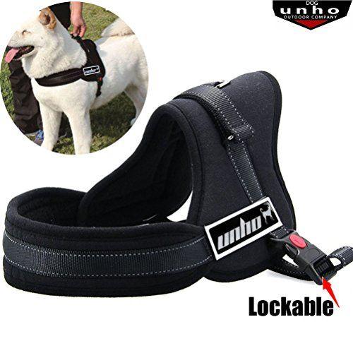 Unho No Pull No Chock Dog Harness Heavy Duty Comfortable