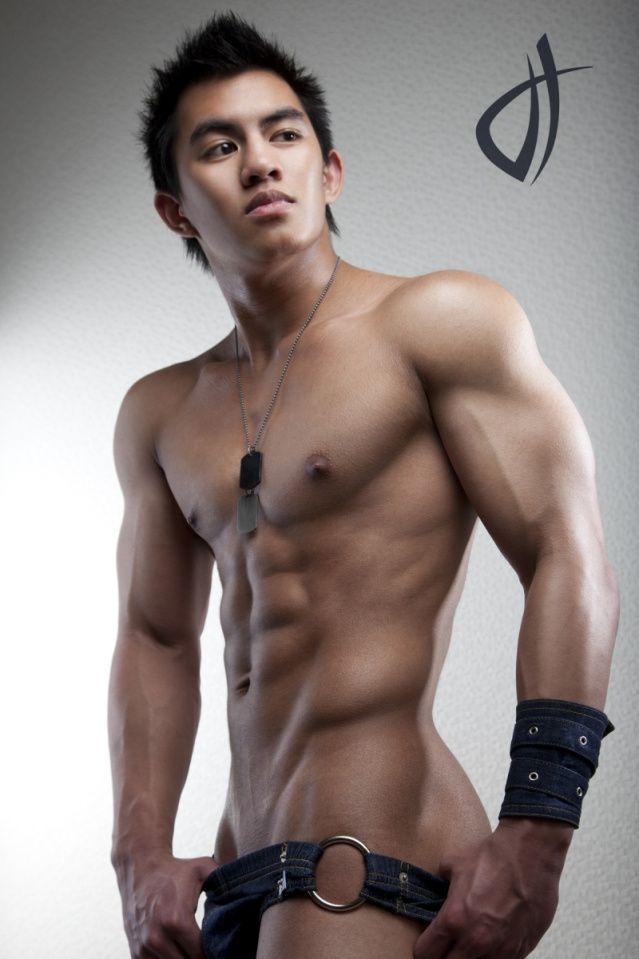 Hot Asian Gay Model