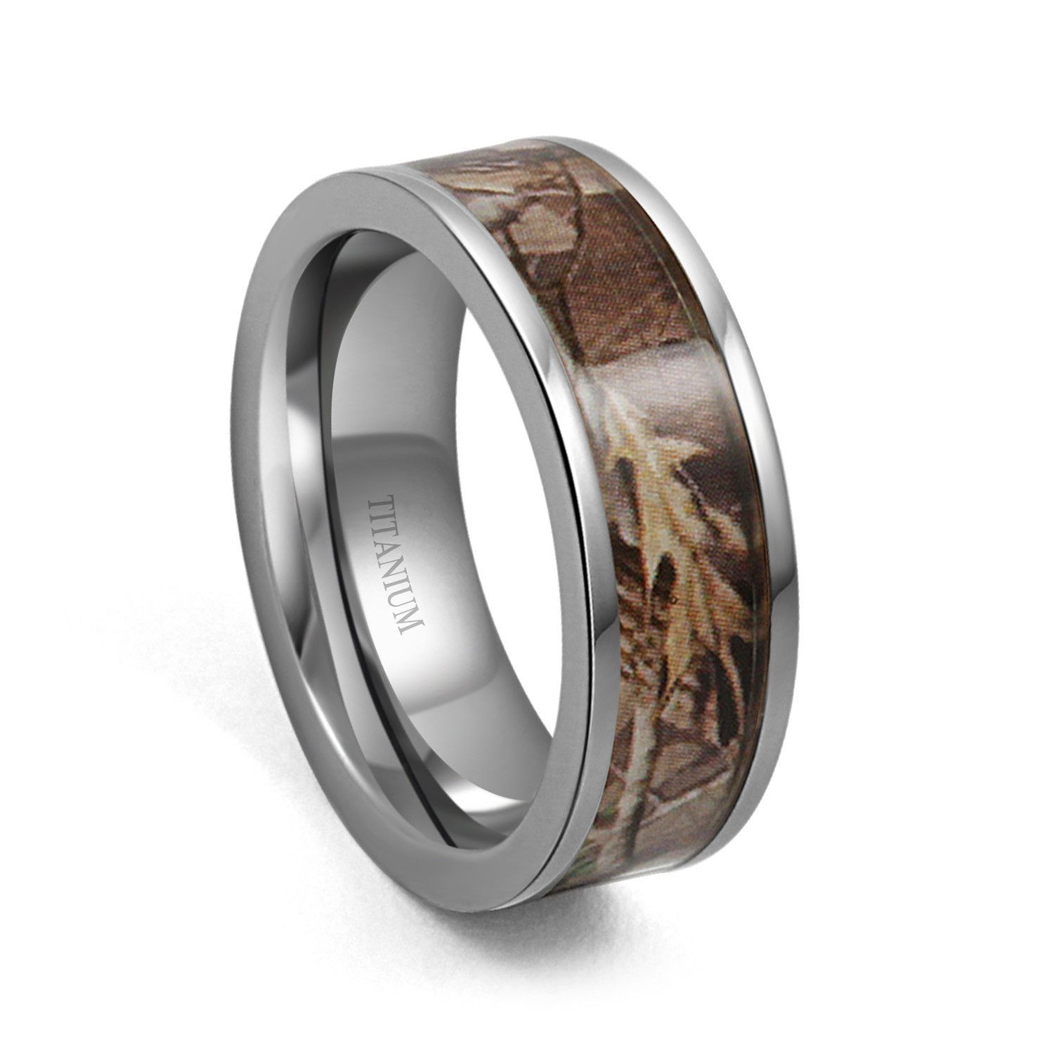 7mm Camo Hunting Camouflage Wedding Band Camouflage Wedding Band