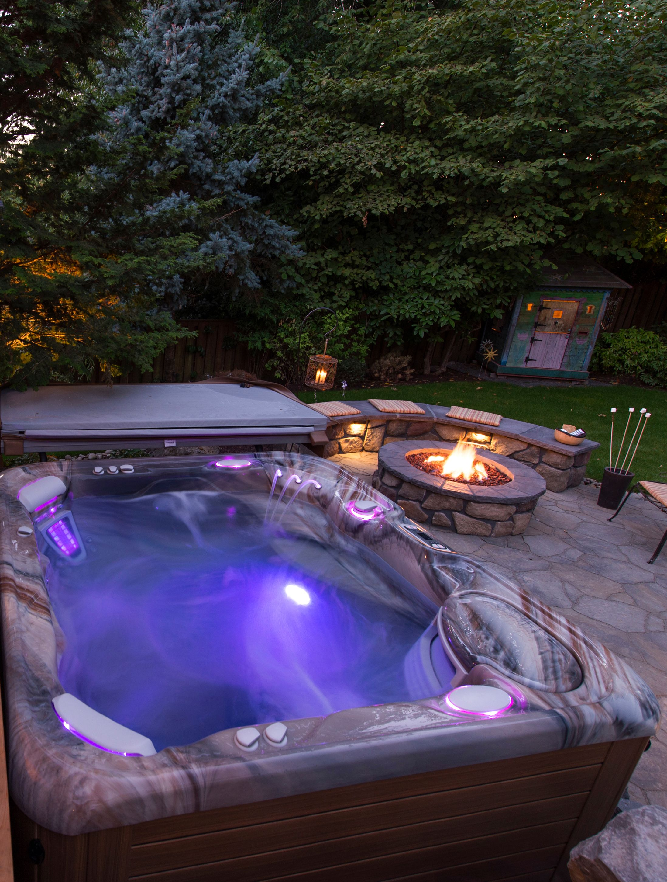 Backyard Paradise: Above Ground Or I N-ground SPA? Http://www