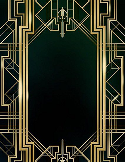 Wallmonkeys Wm368168 Great Gatsby Art Deco Background Peel And Stick Wall Decals 18 In H X 14 In W Modern Art Deco Art Deco Pattern Art Deco Home
