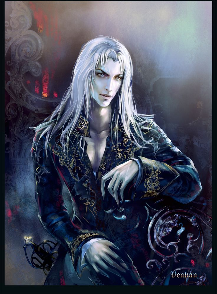 result male vampire art