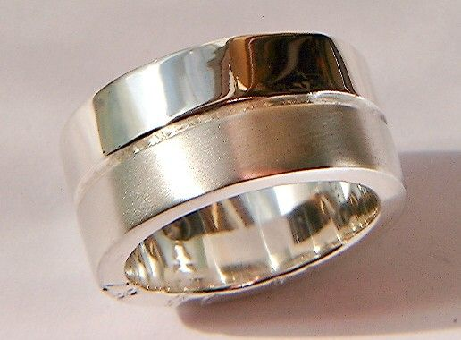 Silver Ring By Dogstone  £160.00,