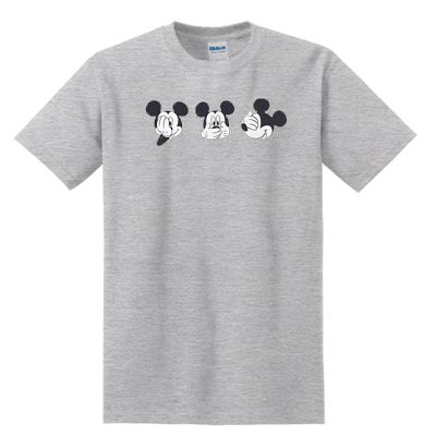 awesome mickey mouse expression T-Shirt For Men And Women