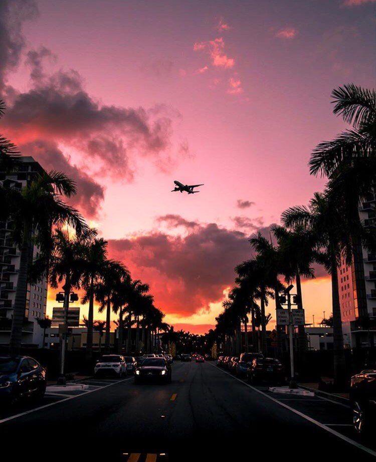 Miami At Night By Oceanfivehotel En 2019