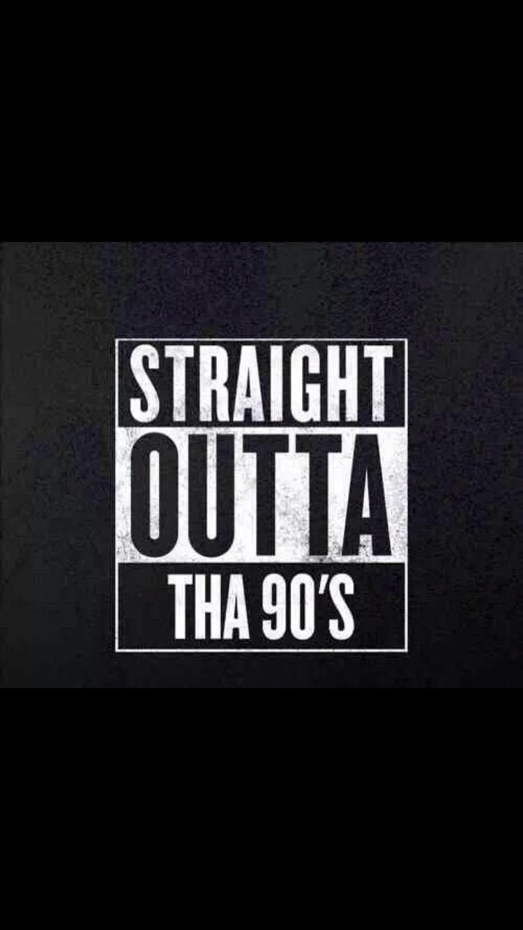 Straight Outta Tha 90's T shirts uk, Black button up