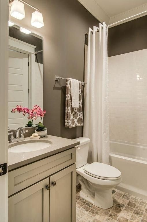 Bathroom Color Ideas In 2020 Small Bathroom Remodel Bathrooms Remodel Bathroom Decor