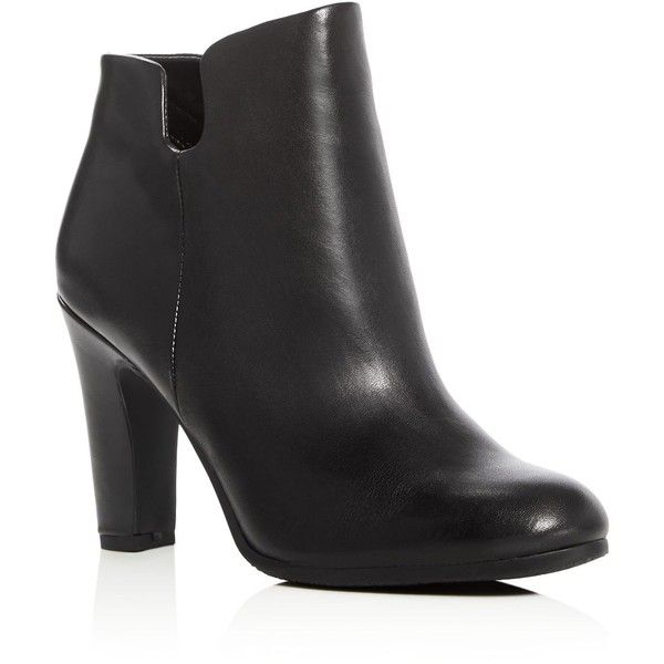 Sam Edelman Shelby High Heel Booties ($160) ❤ liked on Polyvore featuring shoes, boots, ankle booties, black, leather high heel boots, black leather boots, leather boots, black boots and black high heel ankle booties