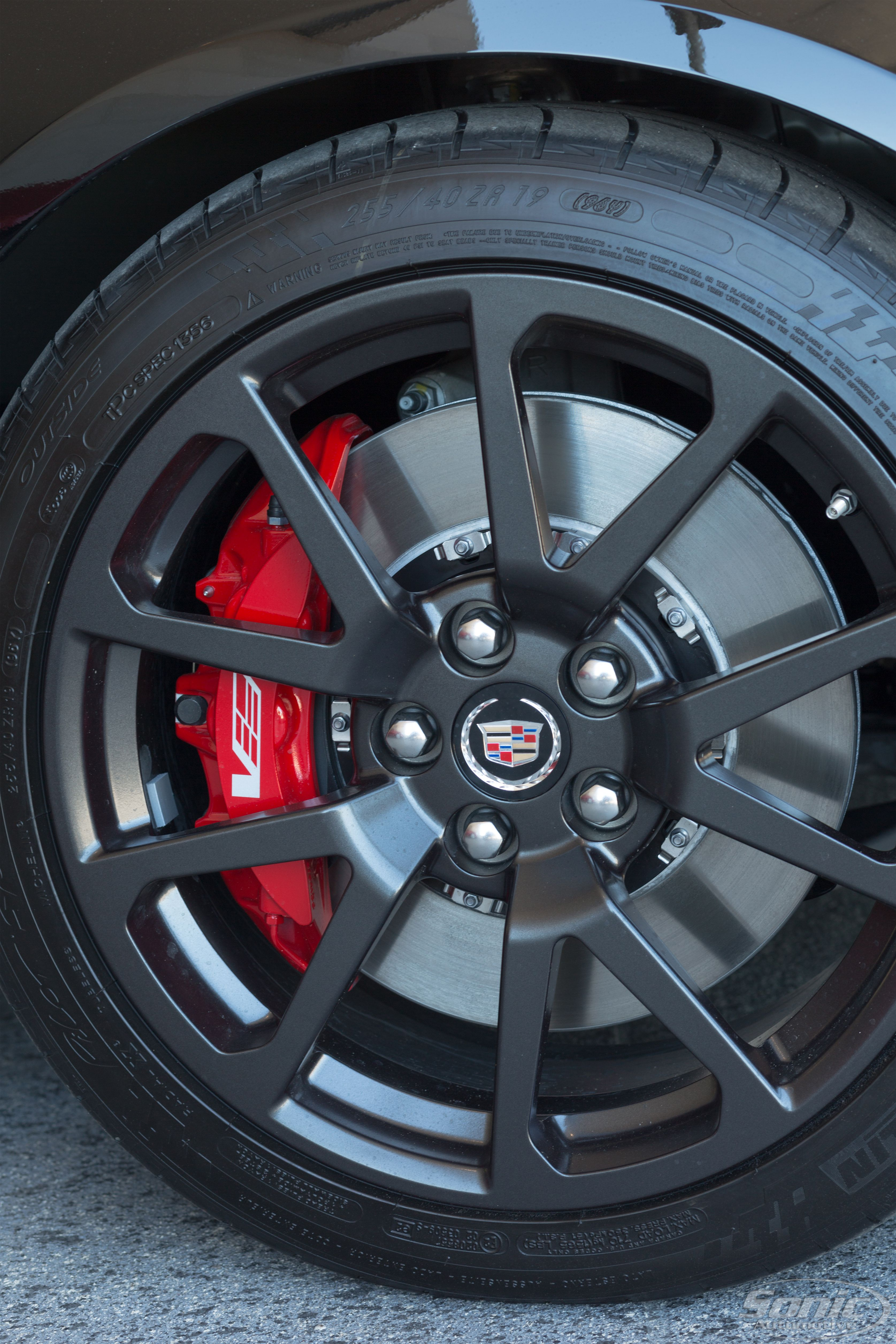 Unleash the beast within and let your Cadillac roar.