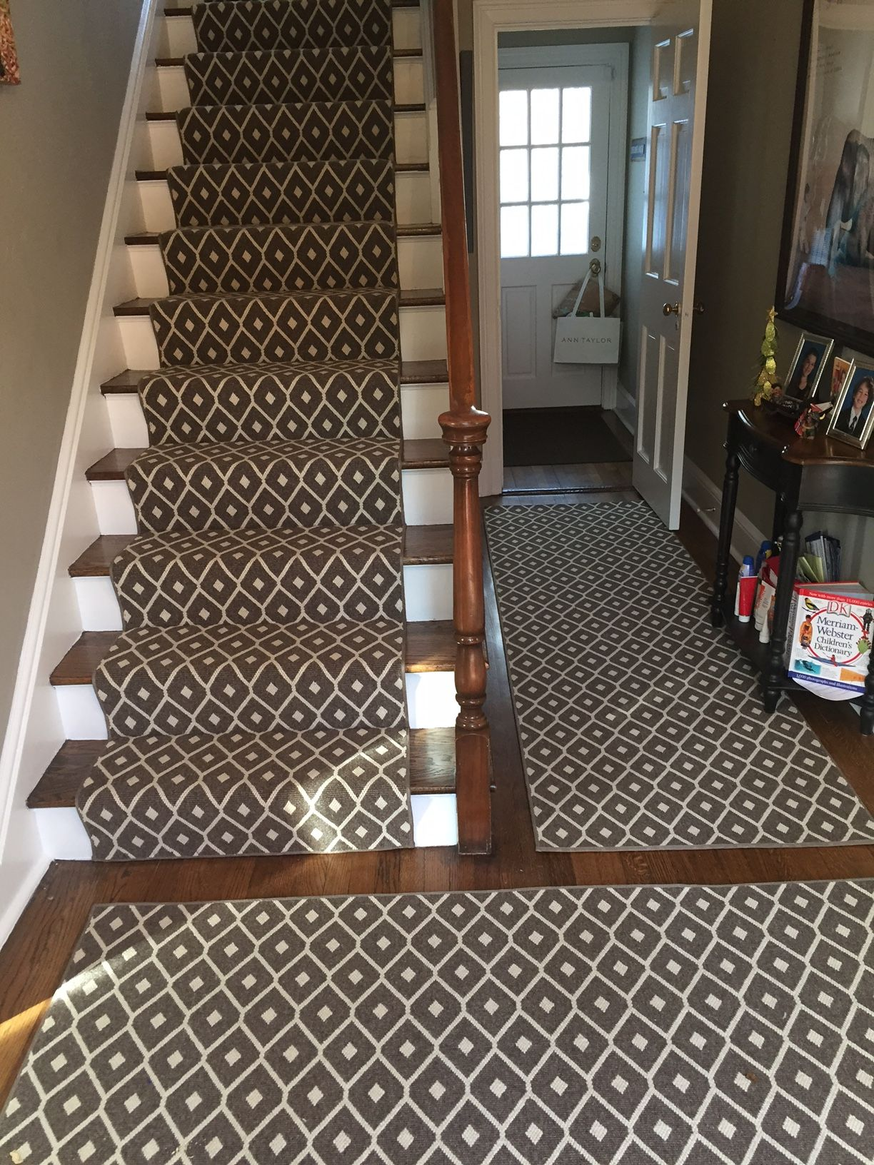 Area Rug Hallway Runner And Step Runner In Patterned Carpet From Stanton Stair Runner Stair Runner Carpet Patterned Carpet