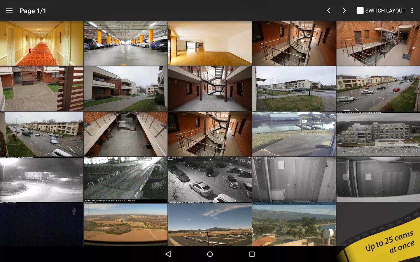 Free Download tinyCam Monitor PRO for IP Cam APK For android