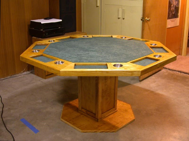 To Be Built Come May 2014 Poker Table Diy Poker Table Octagon Poker Table