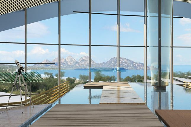 Saffire Freycinet upstairs in the lodge