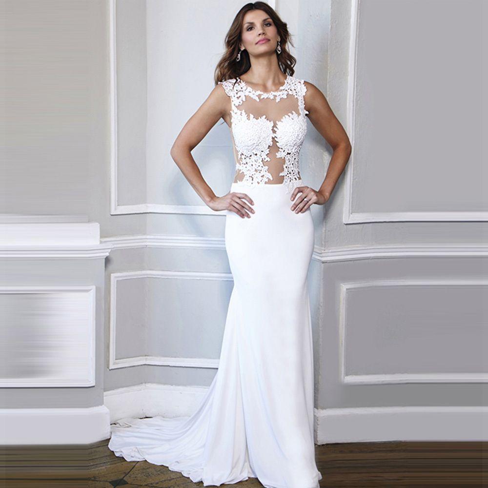 2018 See Through Corset Wedding Dress - Cold Shoulder Dresses for ...